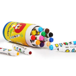 Jarmelo Μαρκαδόροι Baby Roo Σετ 12 Χρώματα Στρογγ. Μύτη Washable (JA92514)