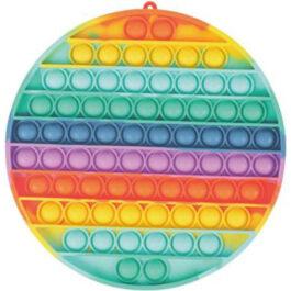 Gama Brands Pop It Bubbles Fidget Κύκλος Rainbow 20 X 20 εκ. (11290082)