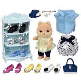 Epoch Sylvanian Families Fashion Play Set – Shoe Shop Collection (5541)