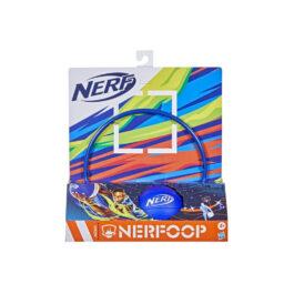 Hasbro Nerf Nerfoop The Classic Mini Foam Basketball And Hoop Blue A0367-F2876