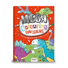 MathV Mega Colouring: Dinosaurs (MEG-3)