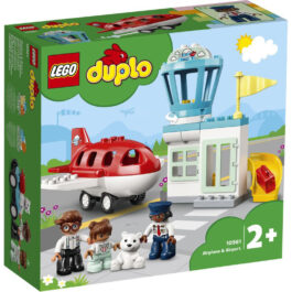 Lego Duplo Αεροπλάνο Και Αεροδρόμιο (10961)