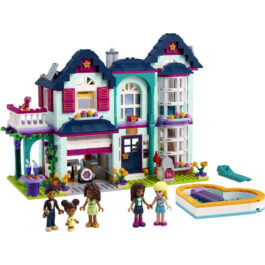 Lego Friends Το Οικογενειακό Σπίτι Της Άντρεα (41449)