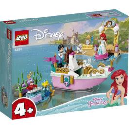 Lego Disney Princess Το Εορταστικό Σκάφος Της Άριελ (43191)