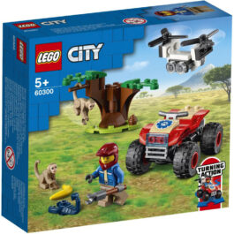 Lego City ATV Διάσωσης Άγριων Ζώων (60300)