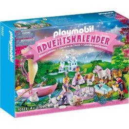 Playmobil Χριστουγεννιάτικο Ημερολόγιο Βασιλικό πικ νικ (70323)